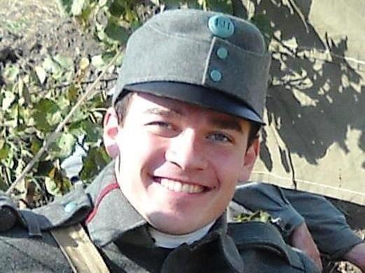 HISTORIK Lukáš Dulíček se zabývá deníky vojáků z 1. světové války.