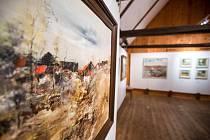 Prezentace tvorby malíře Karla Vondráčka v novoměstské galerii Zázvorka.