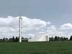 Studie, která skončila první v soutěži, nezakrývá původ větrné elektrárny a splňuje, co se požaduje.