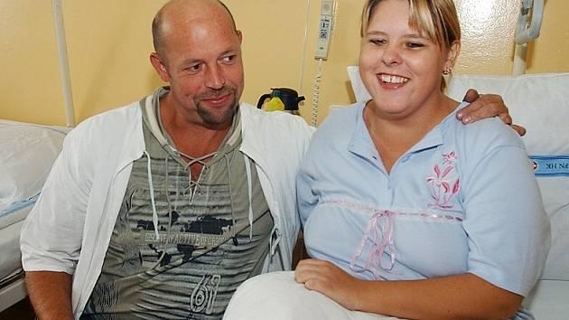 Ladislav Přibyl s dcerou Zuzanou, které daroval ledvinu.