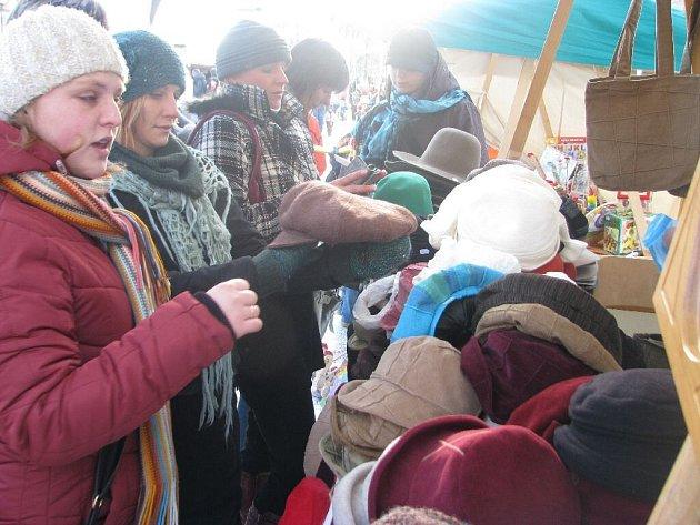 Na Kuksu se konaly vánoční trhy.