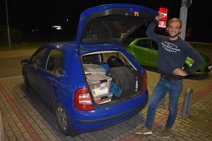 Tento týden vyrazil Antonín Falta v modré Fabii na dlouhou cestu směrem na Afghánistán.