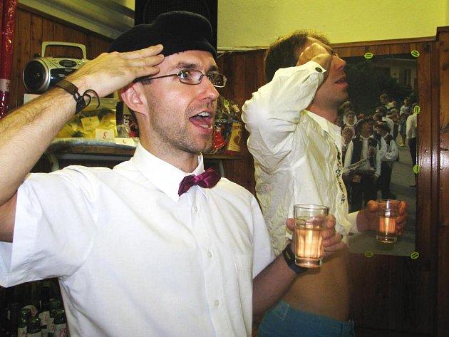 Vinobraní v Červeném Kostelci.