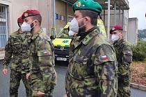 Vojáci budou pomáhat v náchodské nemocnici a jeho odloučeném pracovišti LDN Jaroměř po nezbytně nutnou dobu.