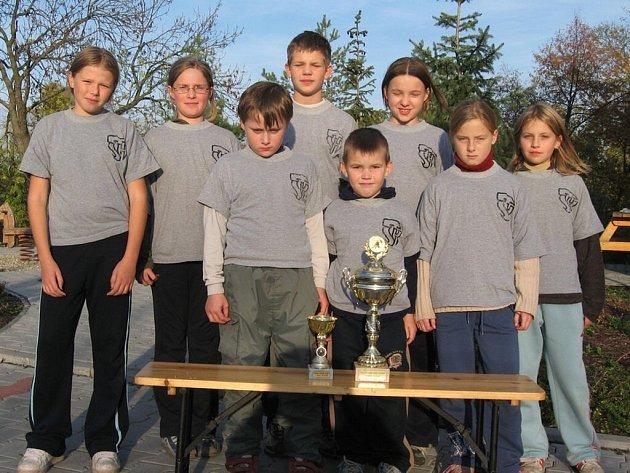 Historickým úspěchem ml.. žáků bylo loňské vítězství v Poháru OORM (Okresní odborné rady mládeže).