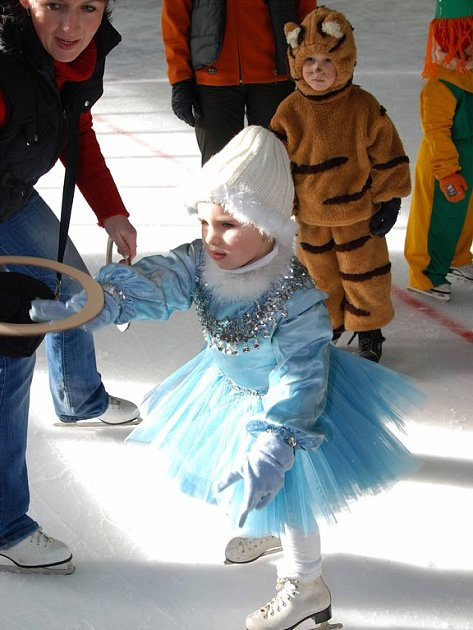 Karneval na ledě.
