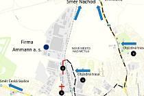 Dopravní opatření po dobu rekonstrukce Náchodské ulice