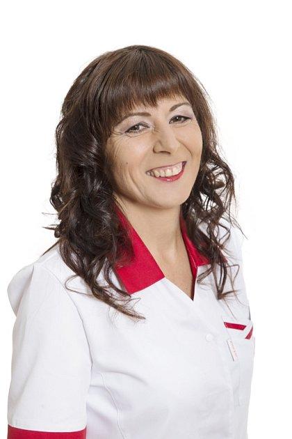 Andrea Matysková, sestřička znáchodské nemocnice.