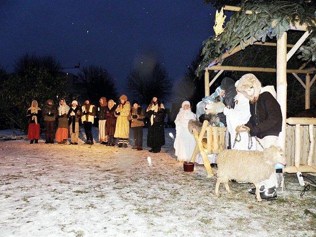 Betlémský příběh ožil v centru České Skalice.