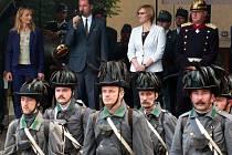 Střet rakouských a pruských vojáků na Husově náměstí v České Skalici.