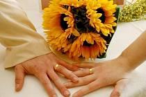 Nevěsty v bílých šatech, svatební koláče, kytice, šperky, snubní prsteny, svatební oznámení – to vše nabídla Svatební Valentýnská výstava, která se uskutečnila v prostorách novoměstského zámku. Navštívit ji přišlo několik stovek lidí.