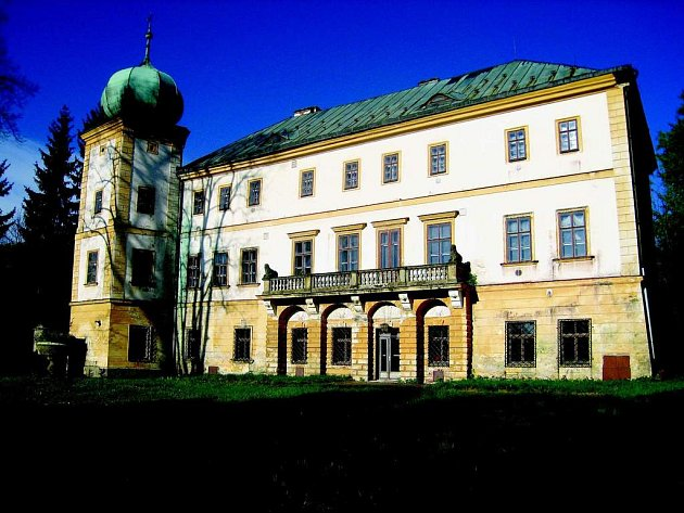 Zámek v Adršpachu. Ilustrační fotografie.