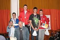 BROUMOVSKÝ Herbert Brause je mistrem republiky juniorů v boxu.