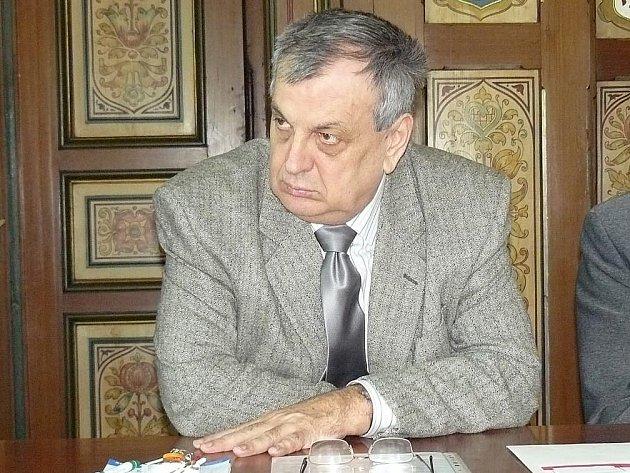 Bývalý starosta Náchoda Oldřich Čtvrtečka.