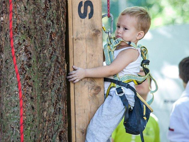 MHFF JE FESTIVAL, kde si užije každý – i nejmladší adepti lezectví.