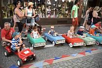 8. mezinárodní sraz šlapacích vozítek v Náchodě.