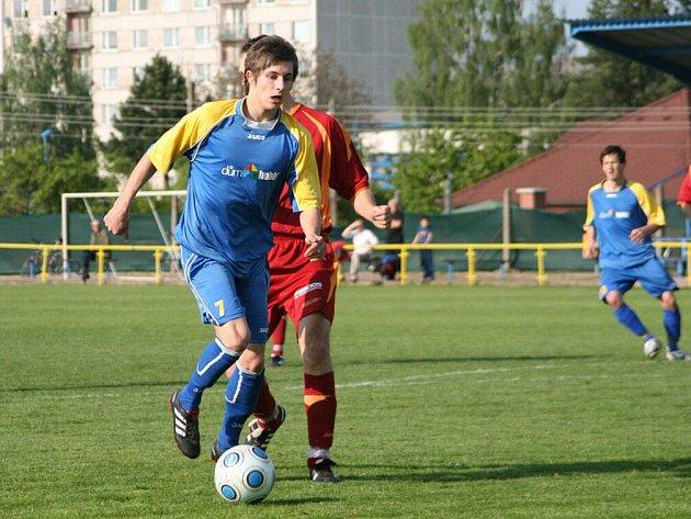 Gól českoskalického útočníka Kořínka měl tříbodové parametry, neboť jeho trefa z 84. minuty v duelu s Doudlebami byla nakonec vítězná.