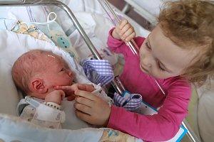 JAKUB DAVID je na světě! Chlapeček se narodil 28. března 2018 v 5,35 hodin. Jeho míry byly 3860 gramů a 51 centimetrů. Radují se z něho rodiče Alena a Karel Davidovi z Náchoda i tříletá sestřička Inna.