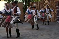 Z 56. Mezinárodního folklorního festivalu v Červeném Kostelci.