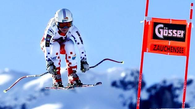 LYŽAŘKA Pavla Klicnarová z Hronova si letos poprvé sáhla na body ze Světového poháru.
