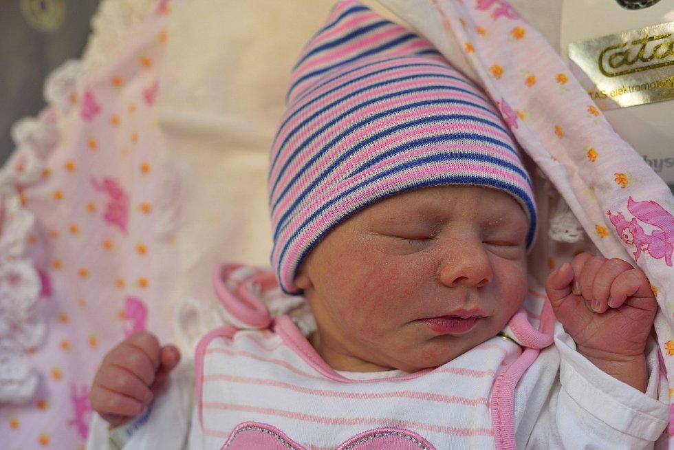 Denisa Vítková je ze Žďárek. Narodila se 7. ledna 2020 v 8:15 hodin, vážila 2995 gramů a měřila 47 centimetrů. Maminka Renata a tatínek Petr Vítkovi mají ještě dvouletého Tomáška.