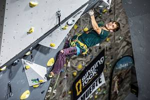 Na lezecké stěně polygonu ve Velkém Poříčí se soutěžilo o titul mistra HZS ČR.