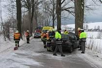 K tragické dopravní nehodě došlo 2. dubna ráno na silnici mezi Teplicemi nad Metují a Bohdašínem na Náchodsku.