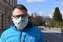 Jan Michel, starosta obce Dolní Radechová.