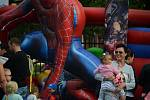 V areálu letní scény na Benediktu se v pátek konal dětský den.