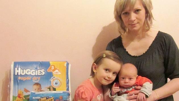 MAREK BERÁNEK z Červeného Kostelce se stal nejkrásnějším miminkem měsíce prosince.
