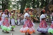 64. Mezinárodní folklorní festival v Červeném Kostelci.
