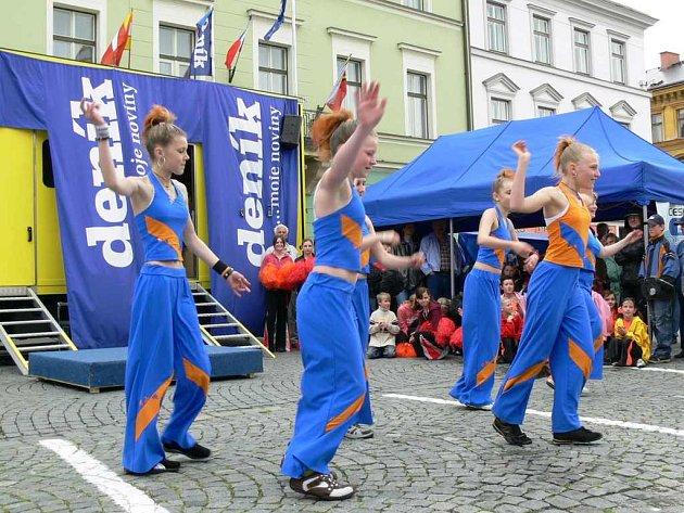 Tanečnice z DDM Klíč.