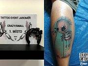 V JAROMĚŘSKÉHO NÁROĎÁKU byla o víkendu největší koncentraci lidí s tetováním v celé republice.