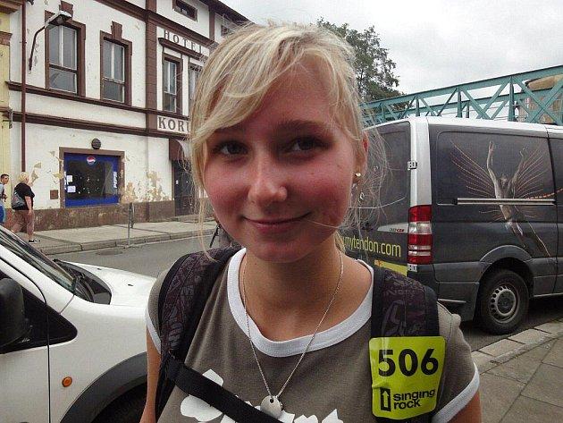 Aneta Outratová, Broumov: Poprvé. Podívat se, jak to tady vypadá.