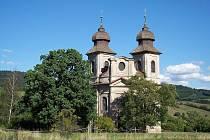 Šonovský kostel sv. Markéty.