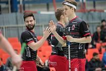 FLORBALISTÉ Náchoda vyhráli základní část a ve čtvrtfinále se střetnou s Horní Suchou.