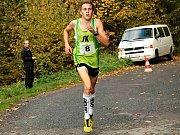TALENTOVANÝ novoměstský vytrvalec Dominik Sádlo krátce za obrátkou letošního ročníku Ceny Metuje.