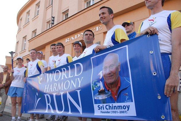Světový běh harmonie v Novém Městě nad Metují.