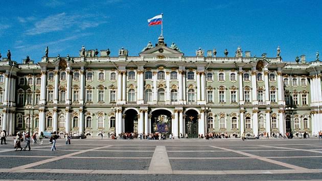 Zimní palác - Petrohrad.