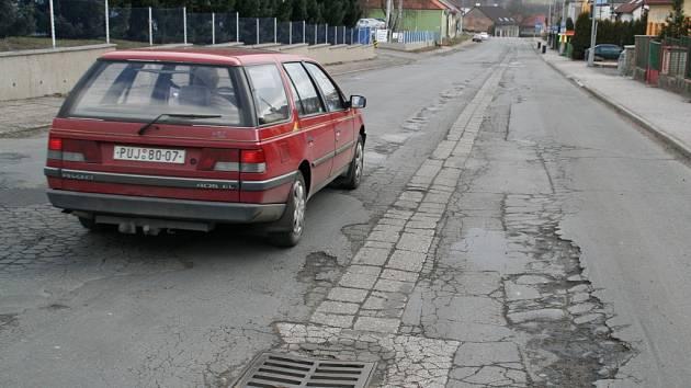 Náchodská ulice v Novém Městě nad Metují.