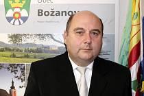 Karel Rejchrt, starosta obce Božanov.