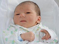 JAN KŘIŽKA se narodil 3. dubna 2012 v 19:05 hodin s váhou 3360 gramů a délkou 49 centimetrů. S rodiči Ivanou a Janem mají domov v Náchodě.