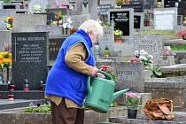DÁVAT SI POZOR na své věci je potřeba také na hřbitově. I odložená kabelka se může stát cílem zloděje. Policisté i městští strážníci se v těchto dnech zaměří na všechny hřbitovy v regionu.