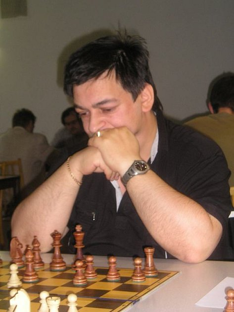 MEZINÁRODNÍ TURNAJ v šachu v Náchodě vyhrál Leonid Vološin z extraligového týmu Trutnov.