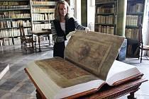 ĎÁBLOVA BIBLE v unikátní kopii láká do kláštera v Broumově, kde byl ukryt i originál.