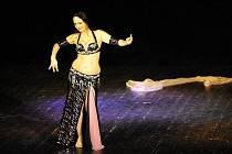 Orientální tanec. Ilustrační foto.