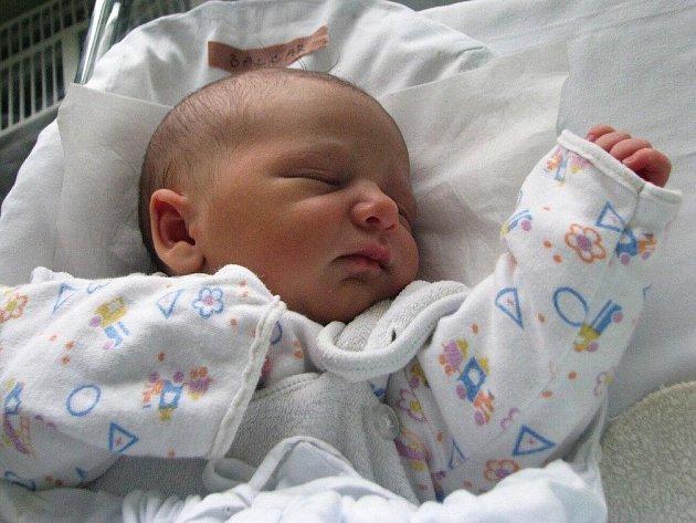 DAMIAN BALCAR přišel na svět 30. prosince 2010 ve 12:45 hodin s váhou 3,115 kg a délkou 49 cm. S maminkou Pavlou a sourozenci Lucií (4) a Pavlíkem (skoro 2 roky), bydlí v Náchodě.