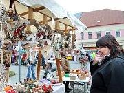 Martinské trhy v Polici nad Metují.