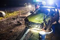 Ranní nehoda u Nahořan