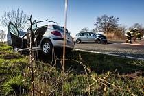 Při nehodě u Nahořan se zranili čtyři lidé.